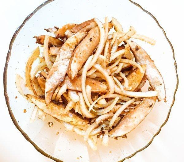 Vegan Portobello Mushroom Bulgogi Bulgogi de Champiñones Vegano