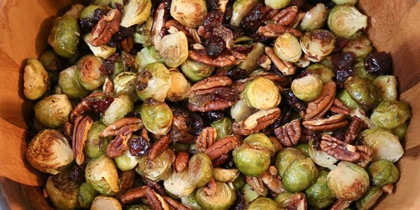 Roasted Brussel Sprouts / Coles de Bruselas Asadas